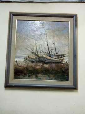 Lukisan lawas antik