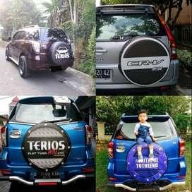 Cover Ban Serep Redy Ford Ecosport/Rush/Terios panther dengan Gaya Mak