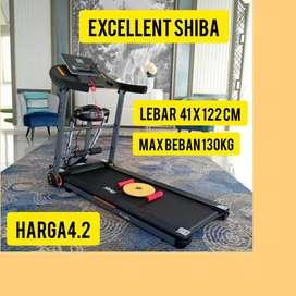 promo treadmill elektrik shiba hG-848 electric tredmil