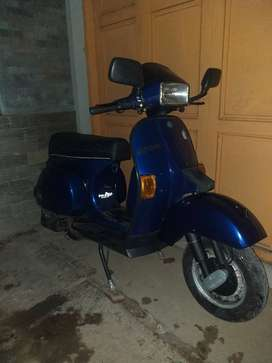 Vespa excell 150 electric starter