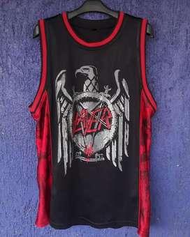Slayer band basket ball jersey original