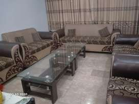 9 sitter sofa set with tabel