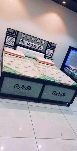 Led bed full plywood emi available. 5633 adv 1877x6 emi