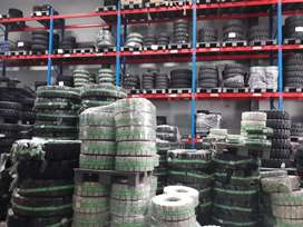 Ban Forklift Solid, Ban Mati, Velg Ban Forklift (BARU)