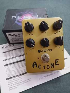 Joyo AC Tone guitar effect pedal / VOX AC 30 amp and cab simulation