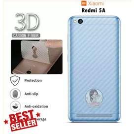 New Sticker Backdoor Hp Karbon Anti Jamur Redmi 5A