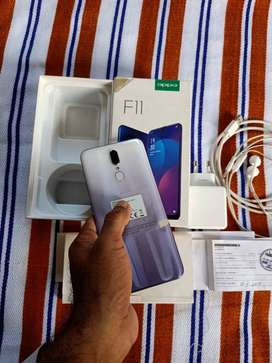 OPPO F 11 6/128 brand new with warranty