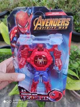 Jam Karakter Super Hero