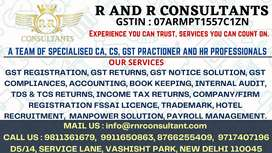 GST, CA, CS & HR Services Under one Roof
