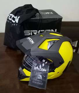 Helm Cargloss Sircon Supermoto Full Face - Yellow