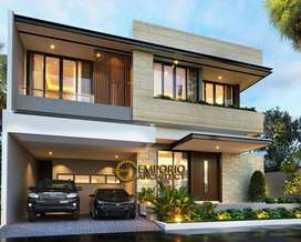 Jasa Arsitek Banten Desain Rumah 324m2 - Emporio Architect
