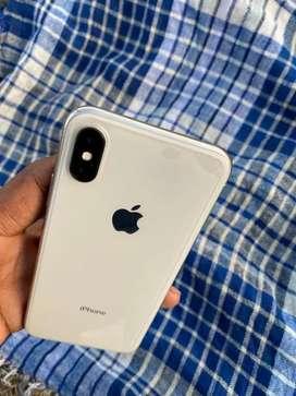 IPhone (X) silver 64 GB