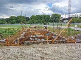 Tanah matang siap bangun RUKO Rumah kontrakan Gudang pabrik