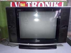 "tv sharp slim 29"" (remot+antena+gratis antar+bergaransi)"