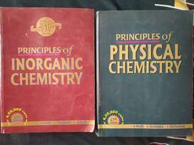Principles of Inorganic Chemistry & Physical Chemistry
