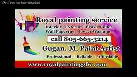 Royal painting service