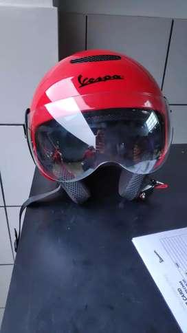 Vespa Helmet Red