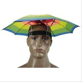 AyooDropship - Topi Payung Umbrella Hat - Multi-Color