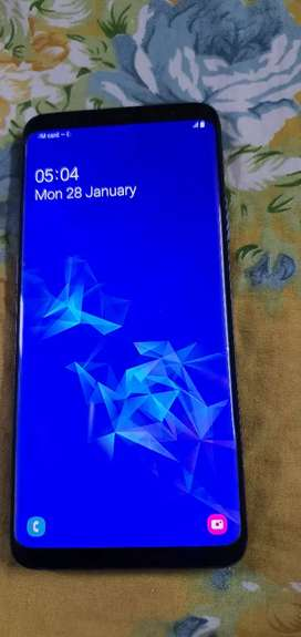 Samsung Galaxy S9+ Blue 64 GB mint condition