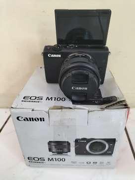 Canon Mirrolles m100 Fullshet box