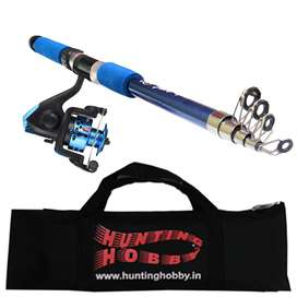 Fishing Rod And Reel With Bag