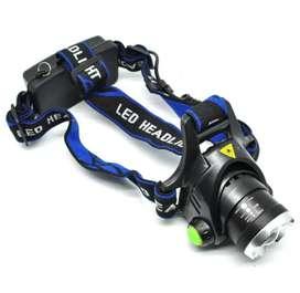 TaffLED High Power Headlamp 1 LED Cree XML-T6 - HD-LD - Black