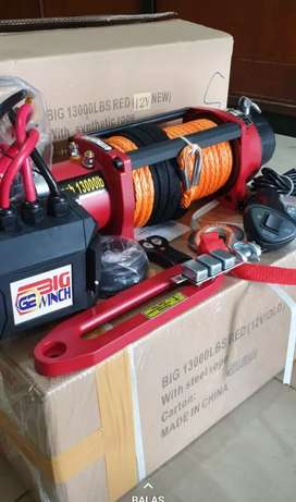 Big winch tali plasma 13000lbs