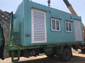 bullet proof cabin prefab homes office container site office