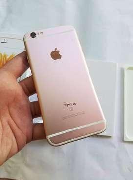 Apple iPhone 6s rose gold 64gb fullset ex inter original 64 gb