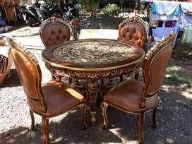 Kursi makan, meja makan jati,minimalis sofa