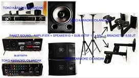 new paket sound system + sub harga 6,55 juta sett