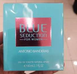 Blue sedaction for women 100ml segel inbox