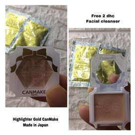 Highlighter Gold CanMake made in Japan