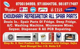 A/c ,freege ,washing machine repairing and a/c for rent