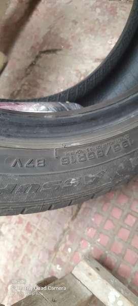 Tyres-- Hyundai i20 car tyres 2 nos.