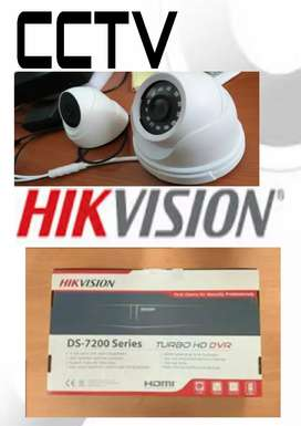 Kamera cctv berkualitas, hikvision 4.channel.2mp.hd