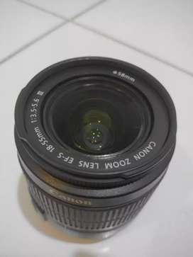 Jual Cepat Lensa Kit 18-55 mm canon