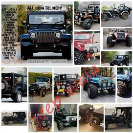 Open quality Modified willy Jeep Jypsy   & Thar Jeeps