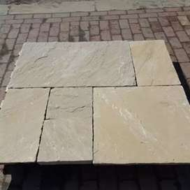 Sandstone cobbles for garden , parking area and all other places