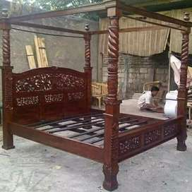Tempat tidur rahwana kanopi