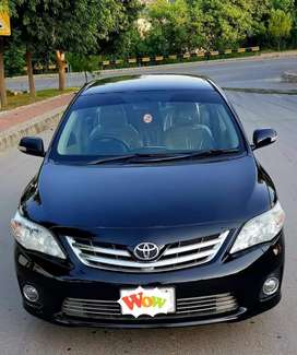 Corolla Gli 2012 on Easy Installment and Downpayment