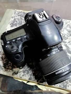 Canon 60d with 18x55 lens