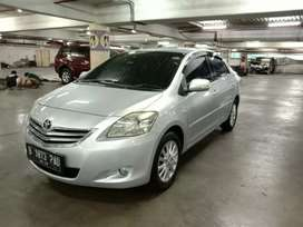 Toyota Vios G A/T Facelift 2012 Silver Pajak Panjang Low KM Mulusss