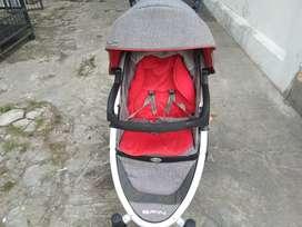 Stroller bayi merk cocolate spin Nego