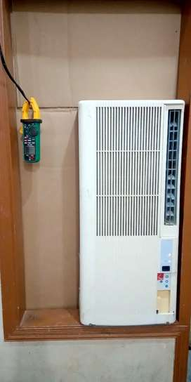 Window AC 110 with 110 transformer good condition. No fault No defect.