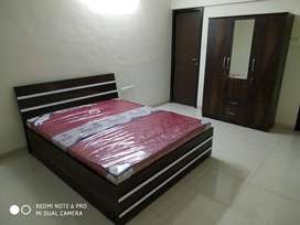 Bedroom set with 1 3 door mattress & bed with storage