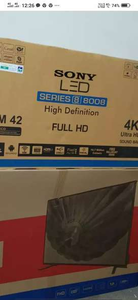 SONY SMART ANDROID TV WITH WARRANTY QUICK SALE FOR DEEWALI @ DEALER PR