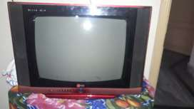 """24"""" tv LG two way sepkr red colour"""