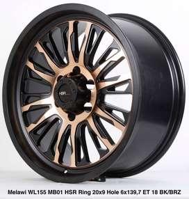 wheels wheels MELAWI WL155MB01 HSR R20X9 H6X139,7 ET18 BKBRONZE