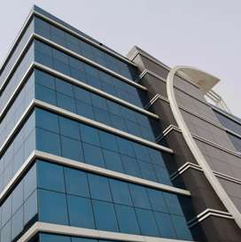 Glass elevated building for lease in  H block sec 63 noida